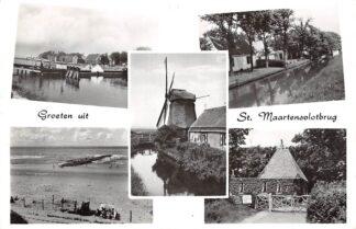 Ansichtkaart Sint Maartensvlotbrug Groeten uit Molen Sint Maartenszee Schagen HC15250