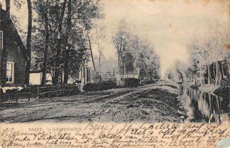 Ansichtkaart 's-Gravenmoer Vaart 1901 Dongen HC15253