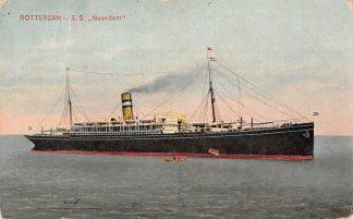 Ansichtkaart Rotterdam S.S. Noordam Holland Amerika Lijn 1908 Scheepvaart Schepen HC15263