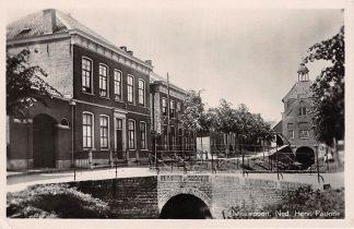 Ansichtkaart Nieuwpoort (ZH) Ned. Hervormde Pastorie Alblasserwaard HC15265