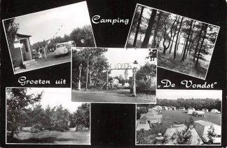 Ansichtkaart Cromvoirt bij Vught Camping De Vondst 1963 HC15266