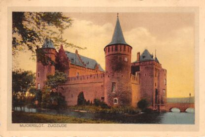 Ansichtkaart Muiden Muiderslot Zuidzijde Kasteel 1933 HC15274