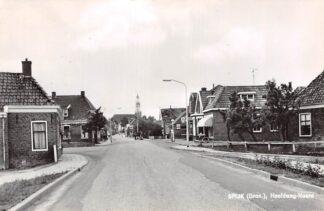 Ansichtkaart Spijk (GN) Hoofdweg-Noord 1966 HC15283