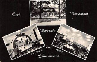 Ansichtkaart Woudenberg Doornseweg 23 Cafe Restaurant Bergzicht Leusderheide HC15284