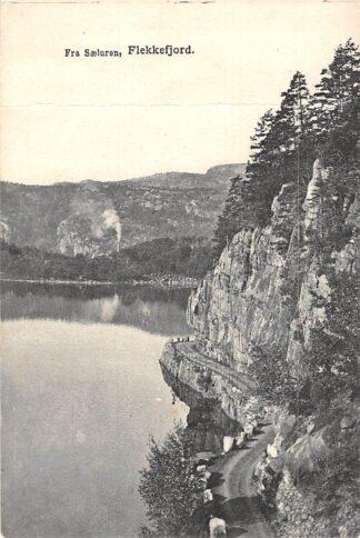 Ansichtkaart Noorwegen Flekkefjord Fra Saeluren Norge Norway Europa HC15297