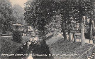 Ansichtkaart Amersfoort Gezicht over de Singelgracht bij de Utrechtsepoort 1906 HC15319
