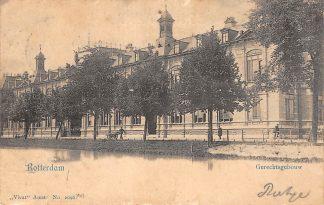 Ansichtkaart Rotterdam Gerechtsgebouw 1901 Vivat no. 2096 HC15320