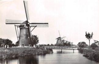 Ansichtkaart Nieuw Lekkerland Molens te Kinderdijk 1966 Alblasserwaard HC15321