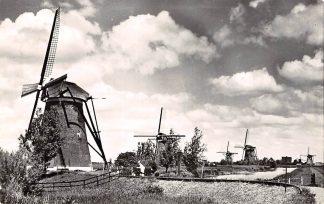 Ansichtkaart Nieuw Lekkerland Kinderdijk Hollandse Molens 1961 Alblasserwaard HC15322