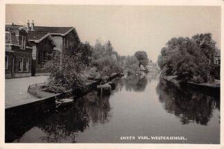 Ansichtkaart Sneek Fotokaart Verl. Westersingel 1940 HC15336