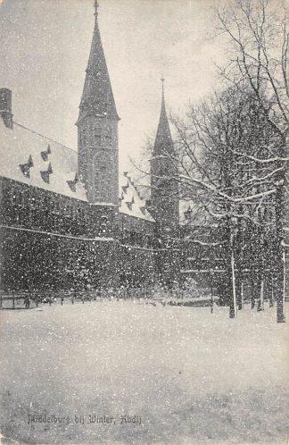 Ansichtkaart Middelburg bij Winter Abdij in de sneeuw HC15339