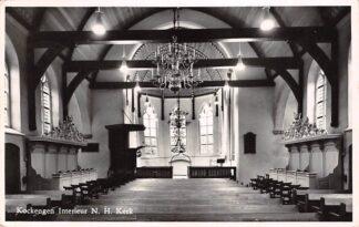 Ansichtkaart Kockengen Interieur N.H. Kerk HC15362
