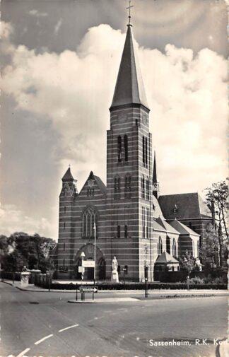 Ansichtkaart Sassenheim R.K. Kerk HC15371