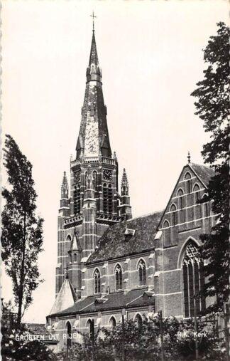 Ansichtkaart Rijen R.K. Kerk 1960 HC15372