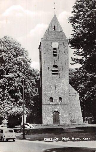Ansichtkaart Norg Drenthe Ned. Hervormde Kerk HC15374