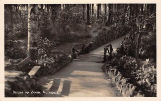 Ansichtkaart Bergen op Zoom Volkspark 1954 HC15431
