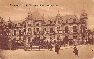 Ansichtkaart Amersfoort St. Pieters- en Bloklandsgasthuis Ziekenhuis 1927 HC15446