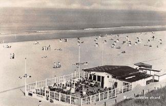 Ansichtkaart Bloemendaal Bloemendaalse strand en zee Strandtent LIDO 1959 HC15462
