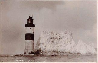 Ansichtkaart Engeland Isle of Wight The Needles Lighthouse i.w. 808 Fotokaart England Great Britain Europa Vuurtoren HC15481