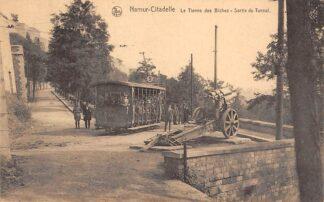 Ansichtkaart Belgie Namen Namur - Citadelle Le Tienne des Biches - Sortie du Tunnel Tram HC15486