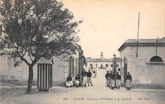Ansichtkaart Algerije Caserne d'Orleans a la Casbah Militair Kazerne Alger Afrika HC15491