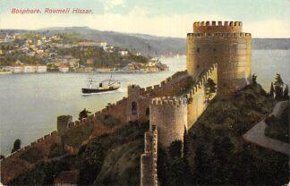 Ansichtkaart Turkije Constantinopel Bosphore Roumeli Hissar Turkey Europa HC15492