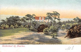 Ansichtkaart Aerdenhout bij Haarlem voor 1906 HC15518