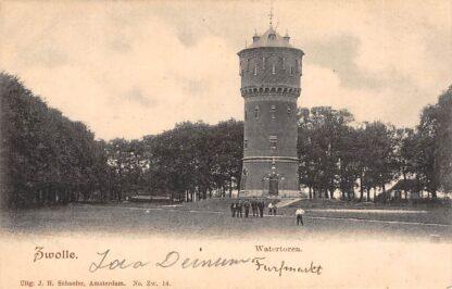 Ansichtkaart Zwolle Watertoren HC15551