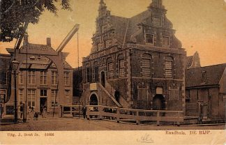 Ansichtkaart De Rijp Raadhuis 1906 HC15554