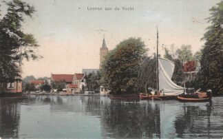 Ansichtkaart Loenen (UT) aan de Vecht Binnenvaart schepen Scheepvaart HC15565