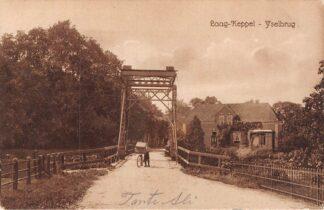 Ansichtkaart Laag-Keppel IJselbrug 1913 HC15567