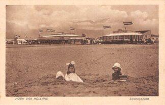 Ansichtkaart Hoek van Holland Strand gezicht met strandtenten 1923 HC15570