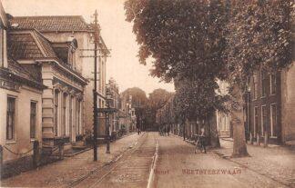 Ansichtkaart Beetsterzwaag Buurt met tramrails 1925 HC15572
