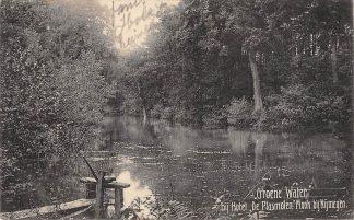 Ansichtkaart Mook bij Nijmegen Groene water bij Hotel De Plasmolen 1908 HC15582
