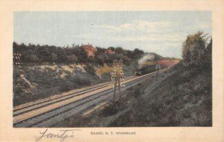 Ansichtkaart Baarn H.Y. Spoorbaan Stoomlocomotief Spoorwegen Treinen HC15583