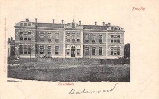 Ansichtkaart Zwolle Ziekenhuis HC15590
