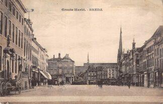 Ansichtkaart Breda Groote Markt 1927 HC15605
