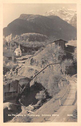 Ansichtkaart Zwitserland Bei Finkenberg im Tuxertal geg. Grunberg Switzerland Suisse Schweiz Europa HC15668