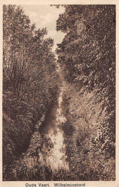 Ansichtkaart Wilhelminaoord Oude Vaart Westerveld bij Frederiksoord HC15675