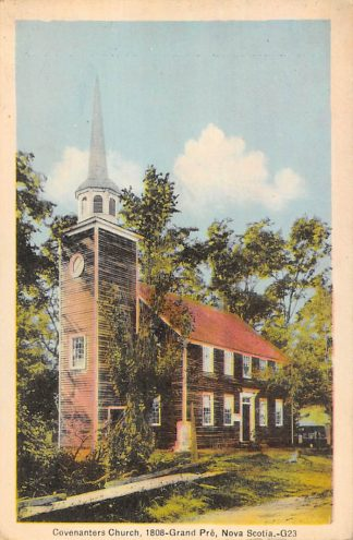 Ansichtkaart Canada Nova Scotia Covenanters Church 1808-Grand Pre Noord-Amerika HC15682