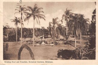 Ansichtkaart Australie Brisbane Wading Pool and Fountain Botanical Gardens 1931 Australia HC15685