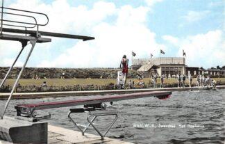 Ansichtkaart Waalwijk Zwembad Het Hoefsven HC15707