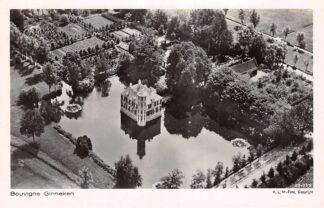 Ansichtkaart Ginneken bij Breda Kasteel Bouvigne 1929 KLM Luchtfoto 29-259 HC15714