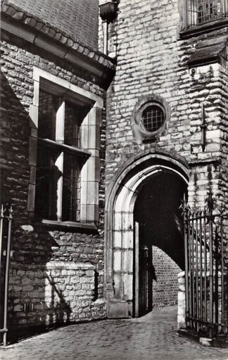 Ansichtkaart Gouda Achter de Kerk Achteringing St. Jans kerk 1964 HC15764