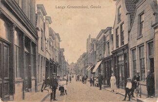 Ansichtkaart Gouda Lange Groenendaal Gompers HC15800