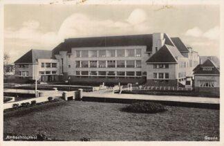 Ansichtkaart Gouda Graaf Florisweg Ambachts school 1934 HC15804