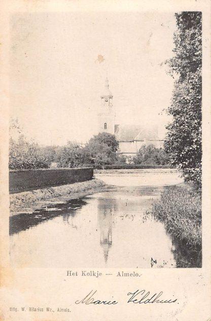 Ansichtkaart Almelo Het Kolkje 1900 HC15823