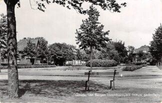 Ansichtkaart Gouda Van Bergen IJzendoorn Park Nieuw gedeelte 1958 HC15826