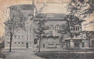 Ansichtkaart Gouda Boelekade Nieuwe Schouwburg Gompers HC15831