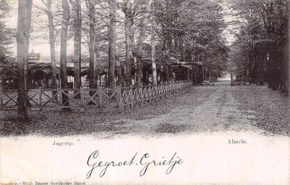 Ansichtkaart Almelo Jagertje 1903 HC15844